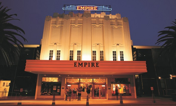 Front of the Empire Theatre, Toowoomba