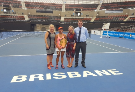 Brisbane will host the Fed Cup semi-final in 2019.